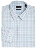 Theory Slim-Fit Plaid Shirt