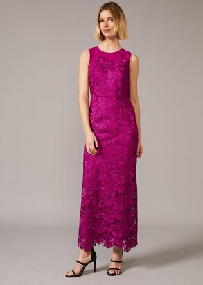 Phase Eight Bessie Lace Maxi Dress