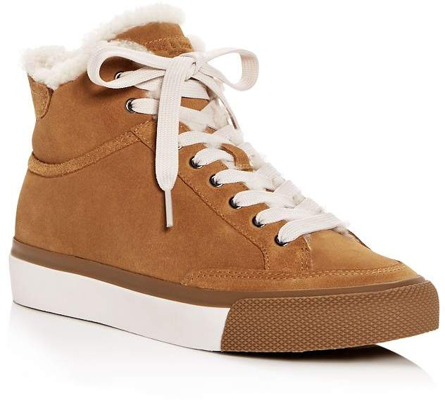 8ebb507761d Women's Orion Shearling High-Top Sneakers