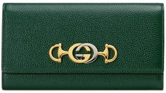 Gucci Zumi continental wallet