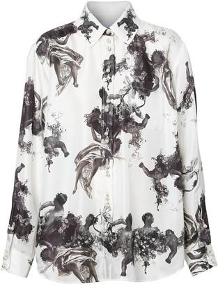 Burberry Angel Print Shirt