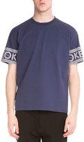 Kenzo Logo-Print Short-Sleeve T-Shirt, Blue