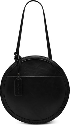 Sole Society Cerys Faux Leather Circle Shoulder Bag