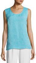 Caroline Rose Chambray Longer Tank