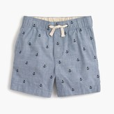 J.Crew Boys' critter chambray dock shorts in anchors