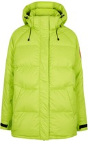 Canada Goose Approach Bright Green Quilted Shell Jacket