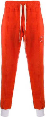 Casablanca Terry Fleecy Cotton Track Pants