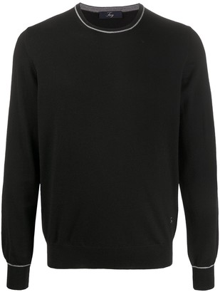Fay Crew Neck Knit Jumper