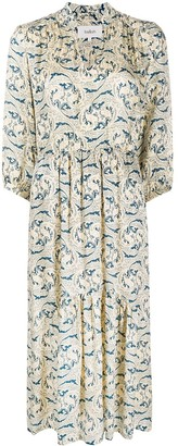 BA&SH Song paisley print dress