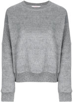 Jucca ribbed trim sweatshirt