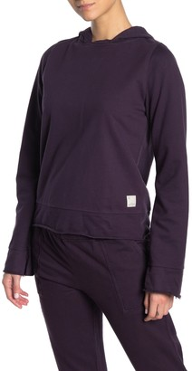 Maaji Glimpse Mulberry Raw Edge Sweatshirt Hoodie