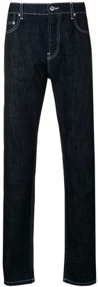 Kenzo contrast stitched jeans