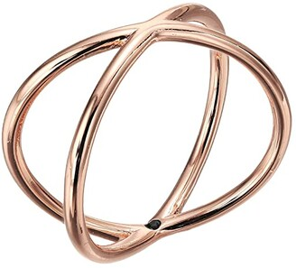 Madewell Crossover Ring (Rose Gold) Ring