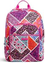 Vera Bradley Modern Medley Campus-Backpack