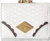 Vivienne Westwood Braccialini Frilly Snake Wallet