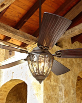 """Horchow 70"""" Olivier Outdoor Ceiling Fan"""