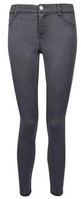 Dorothy Perkins Womens Dp Petite Charcoal 'Frankie' Skinny Denim Jeans