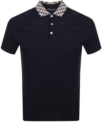 Aquascutum London Coniston Polo T Shirt Navy