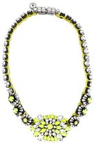 Shourouk Neon Crystal Necklace