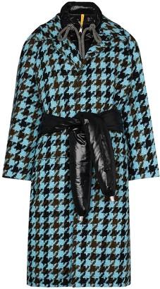 Moncler 1952 Rineke tweed belted coat