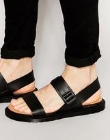 Dr. Martens Kennet Buckle Strap Leather Sandals