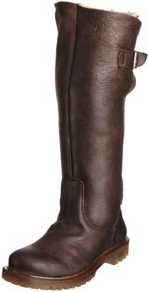 Pantofola D'oro Women's Maiella Tubo Ebano Fur Trimmed Boots R14M-D_54 4 UK 37 EU