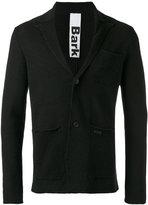 Bark patch pockets knitted blazer - men - Linen/Flax/Polyester - M
