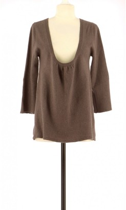 American Vintage Brown Cashmere Knitwear for Women