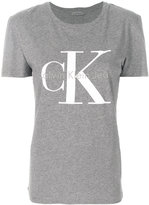 CK Calvin Klein short sleeve logo T-shirt