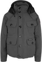 Canada Goose Selkirk Dark Grey Padded Twill Jacket
