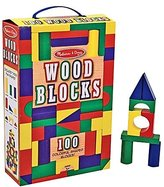Melissa & Doug Wood Blocks Set (100 pcs)