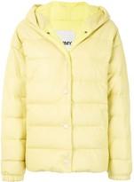 Yves Salomon Army padded hooded jacket
