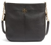 Tory Burch Ivy Swingpack Leather Hobo - Black