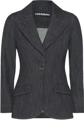 Theavant Denim Blazer In Black