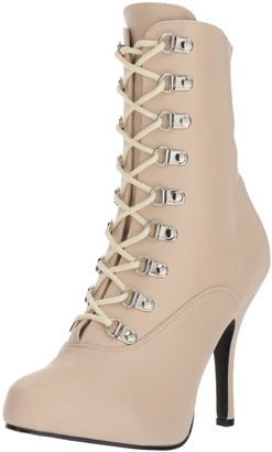 Pleaser USA Pink Label Women's Eve106/crpu Ankle Bootie