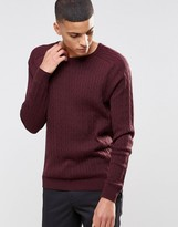 Selected Cable Knit Sweater