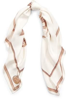 Ralph Lauren Equestrian-Graphic Silk Scarf