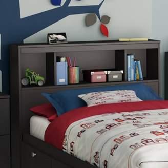 South Shore Spark Bookcase Headboard, Twin, Chocolate