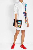 Karl Lagerfeld X Steven Wilson Printed Clutch with Leather