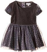 Absorba Baby-Girls 9G30164 Wonderland Polka Dot Dress,(Manufacturer Size:12 Months)