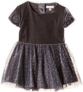 Absorba Baby-Girls 9G30164 Wonderland Polka Dot Dress