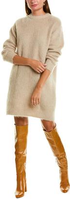 Max Mara Calte Mohair & Wool-Blend Sweaterdress