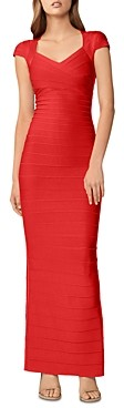 Herve Leger Bandage Sweetheart Neck Gown