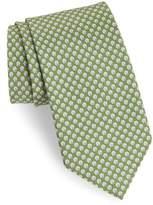 Salvatore Ferragamo Ematite Print Silk Tie