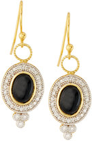 Jude Frances 18k Oval Onyx & Diamond Earring Charms