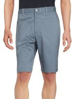 Callaway Striped Flat-Front Shorts