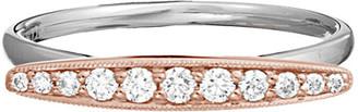 Diamond Select Cuts 14K Two-Tone 0.19 Ct. Tw. Diamond Ring