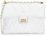 Mario Valentino Souris D Sauvage Studded Leather Shoulder Bag