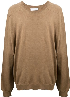 Societe Anonyme Oversized Long-Sleeve Jumper