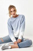 La Hearts Oversized Tie Dye Crew Neck Sweatshirt